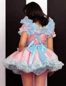 sissy baby dress