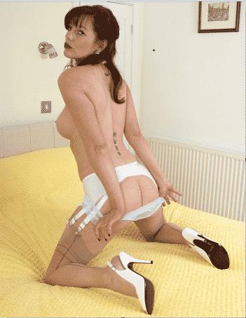 milf fetish, nylon panties,